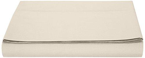 AmazonBasics Bettlaken, Mikrofaser, Beige, 240x320x10cm