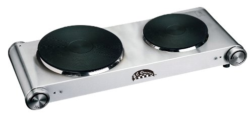 Cheap BC Classics BC-72608 Stainless Steel Double Burner