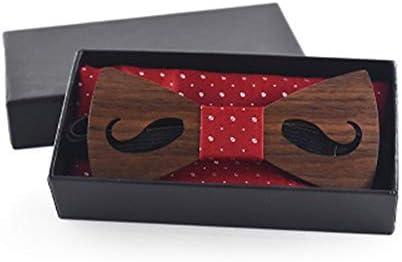 Corbata de lazo de madera para hombre Conjunto de pajaritas de ...