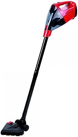 Aspirador de agua y polvo X5 Vac – 5 en 1 – Escoba – inalámbrico – sin bolsa – Rojo: Amazon.es: Hogar