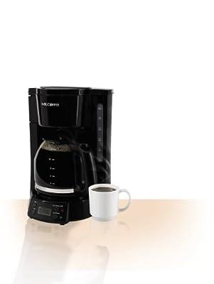 Mr. Coffee 12-Cup Programmable Coffee Maker, Black