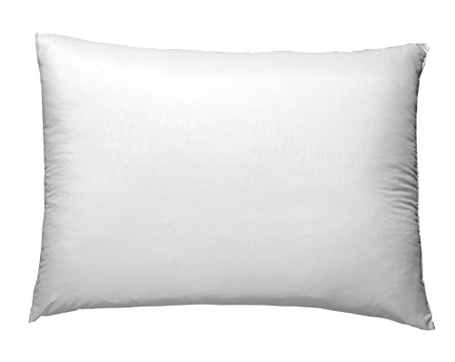 Colchas Concord Fina de Pato Almohada Pluma Individual, Color Blanco
