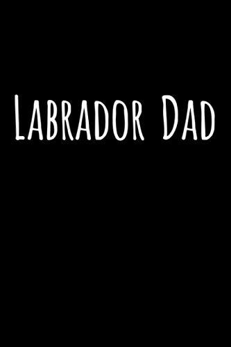 Chocolate Labrador Christmas Cards - Labrador Dad: 6x9 120 Page Lined