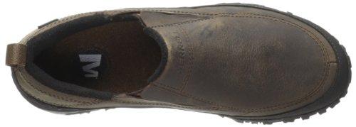 Merrell Men's Shiver Moc 2 Waterproof Slip-On Shoe,Dark Earth,7 M US Dark Earth