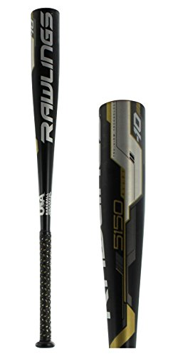 Rawlings 5150 Alloy USA (-10) US8510 Youth Baseball Bat (Baseball Little League Usssa)