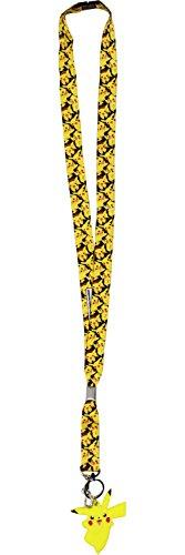 Pokemon Pikachu Lanyard Key Ring -