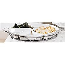 Godinger Round Relish Dish