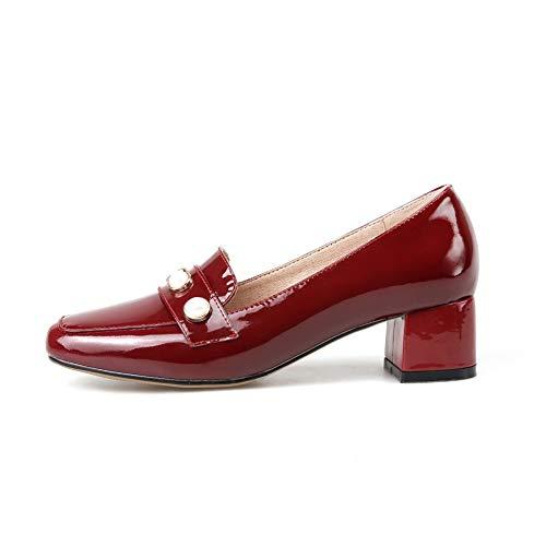 Bordeaux EU BalaMasa APL10879 Compensées 36 Rouge Sandales 5 Femme FfxqXaz