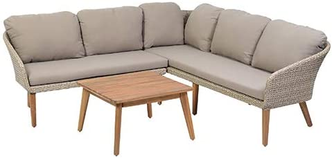 greemotion Murcia Conjunto de Muebles de jardín, Beige: Amazon.es ...