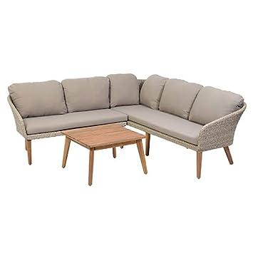 greemotion Murcia Conjunto de Muebles de jardín, Beige ...