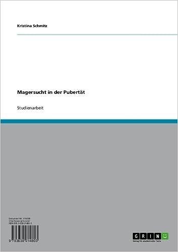 Magersucht in der Pubertät (German Edition)