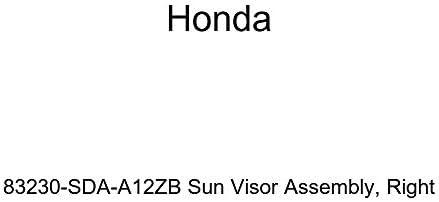 Honda Genuine 83230-SDA-A12ZB Sun Visor Assembly Right
