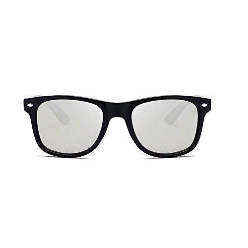 Sunglasses- Conducción Espejo Polarizer Hombres Moda clásica Salvaje Gafas  de Sol (Color   Black Box Black)  Amazon.es  Hogar f26cbc8cf80e