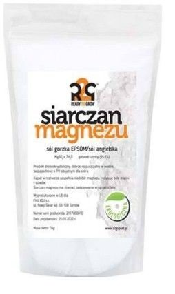 Ready to grow Epsom Sales de baño 1 kg bio Sulfato Sulfato de Magnesio Sal Wellness