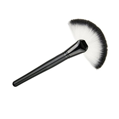 Electomania® Slim Fan Brush Makeup Blush