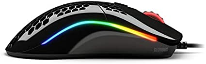 Glossy-schwarz Glorious PC Gaming Race Model O Gaming-Maus