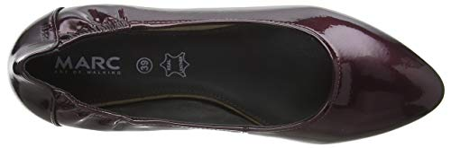 Lame Bordo suede Ballerines Aurelia Femme 00852 Crack Shoes Rouge Marc 8014O4