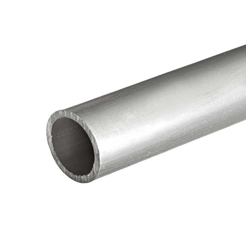 Online Metal Supply 6063-T52 Aluminum Round Tube, OD: 3.000 (3 inch), Wall: 0.065 inch, Length: 24 inches by Online Metal Supply