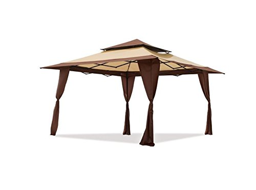 Z-Shade Replacement Canopy Top Cover for 13x13 Pop-Up Gazebo 300D Polyester Fabric (Top Cover Only-No Frame)