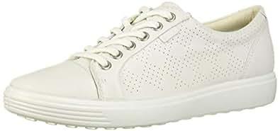 ECCO Womens 43083301007 Soft 7 White Size: 4-4.5 M US