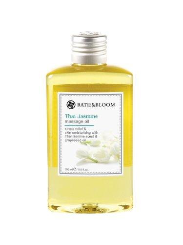 150 Ml Bath - BATH & BLOOM Thai jasmine massage oil 150mL
