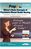 PrepU for Shives's Basic Concepts of Psychiatric-Mental Health Nursing, Shives, Louise Rebraca, 145114895X
