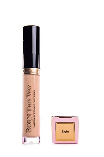 Too Faced Eye Concealer (Too Faced Born This Way Naturally Radiant Concealer - Light (Light with Golden Undertones))