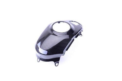 Cover Ducati Tank (Bestem CBDU-MUL12-TKC Black Carbon Fiber Tank Cover for Ducati Multistrada 1200 2010 - 2013)