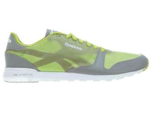 Reebok Men's Classic Ultralite Pkbl-M Sneaker,Sonic Green/Flat Grey/White,10.5 M US
