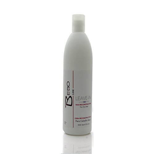 Bebo Line Wax Reconstructor For Dry hair With Semi Di Lino Leave-in 16oz by bebo line