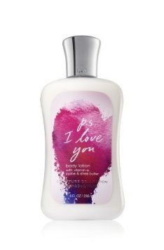 Bath and Body Works PS I Love You Body Lotion 8 Ounce Retired Scent (Love Ps I And Body Bath You)