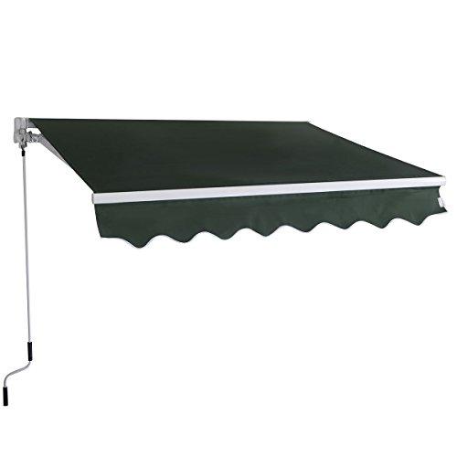 alitop-manual-patio-64x5-retractable-deck-awning-sunshade-green