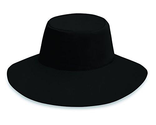 Wallaroo Hat Company Women's Aqua Hat - Black - UPF 50+, Ready for Adventure -