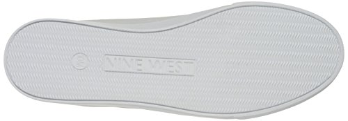 Nine West Explosion Fabric Fashion Sneaker White/White