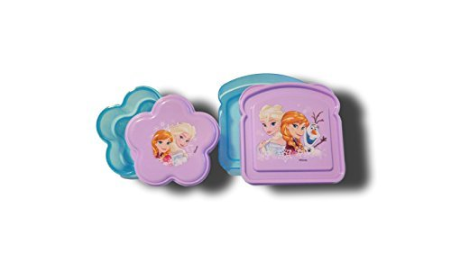 Disney Frozen 2 Piece ZAC Designs Lunch Box Kit.