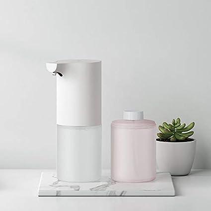 Bureze Xiaomi Mijia - Dispensador de jabón automático con Pilas AA y Limpiador de Manos Antibacteriano