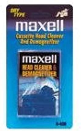 B000001OMF Maxell Cassette Head Cleaner and Demagnetizer - Dry Type A-450 31ugAZXSXxL