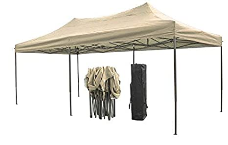 Palm Springs 3x3m 10x10ft Sides Blue Pop Up Gazebo