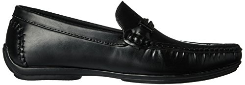 Adams Strap Stacy Smooth Moc Black Oxford Percy Driving Braided Men's Ir4qd4