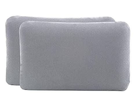 Doble pack de fundas de almohada (Paquete de 2) para almohadas de viaje o para niños, de 40x25cm, modelo VOLAR, 100% algodón, sin costuras, buen ...