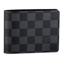 LOUIS VUITTON ルイヴィトン ダミエグラフィット ポルトフォイユミュルティプル LOUIS VUITTON 二つ折りXカード財布 N62663 B00VRSVPQC