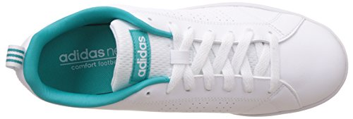 Clean W Shock Green Zapatillas Adidas para Vs Mujer White Ftwr Multicolor Advantage 5qngFHvZ