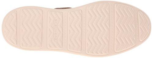 Skechers Status-Melec, Chaussures Bateau Homme Marron