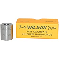 L.E. Wilson CLG-38SP Case Length Gage for 38 Special, Measures Case Length Only, Polished Steel
