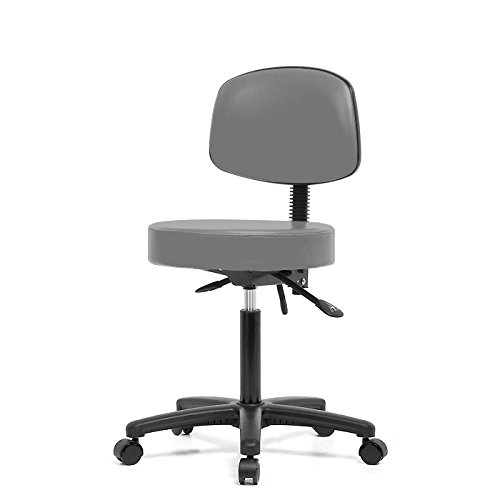 Top Medical Stool with Back 21