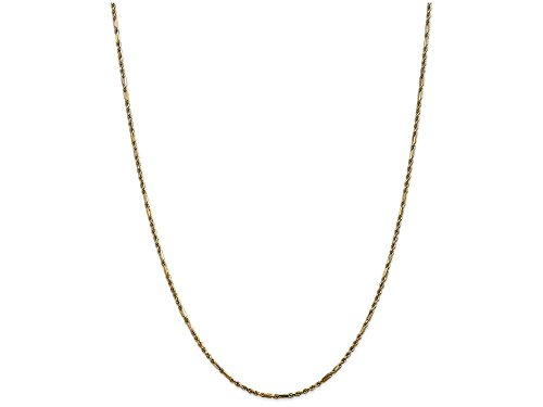 Milano Rope Chain (Finejewelers 24 Inch 14k Yellow Gold 2.0mm Milano Rope Chain Necklace)