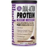 100% Natural Dual Action Protein Powder, Natural Chocolate Flavor 2.1 lbs by Bluebonnet Nutrition (Pack of 3)