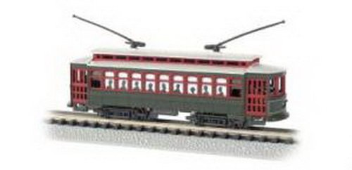 Bachmann Industries Brill Trolley - New Orleans (Desire St.) N Scale