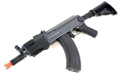- DE AK47-HS [Hybrid Spetsnaz] Metal Body Fully Automatic Electric AEG Rifle - Newest Enhanced Model