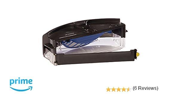 ASP ROBOT Depósito de filtros AEROVAC para iRobot Roomba 555 Serie 500. Recambio ORIGINAL CAJÓN DE RESIDUOS CAJA repuesto compatible para aspirador irobot ...